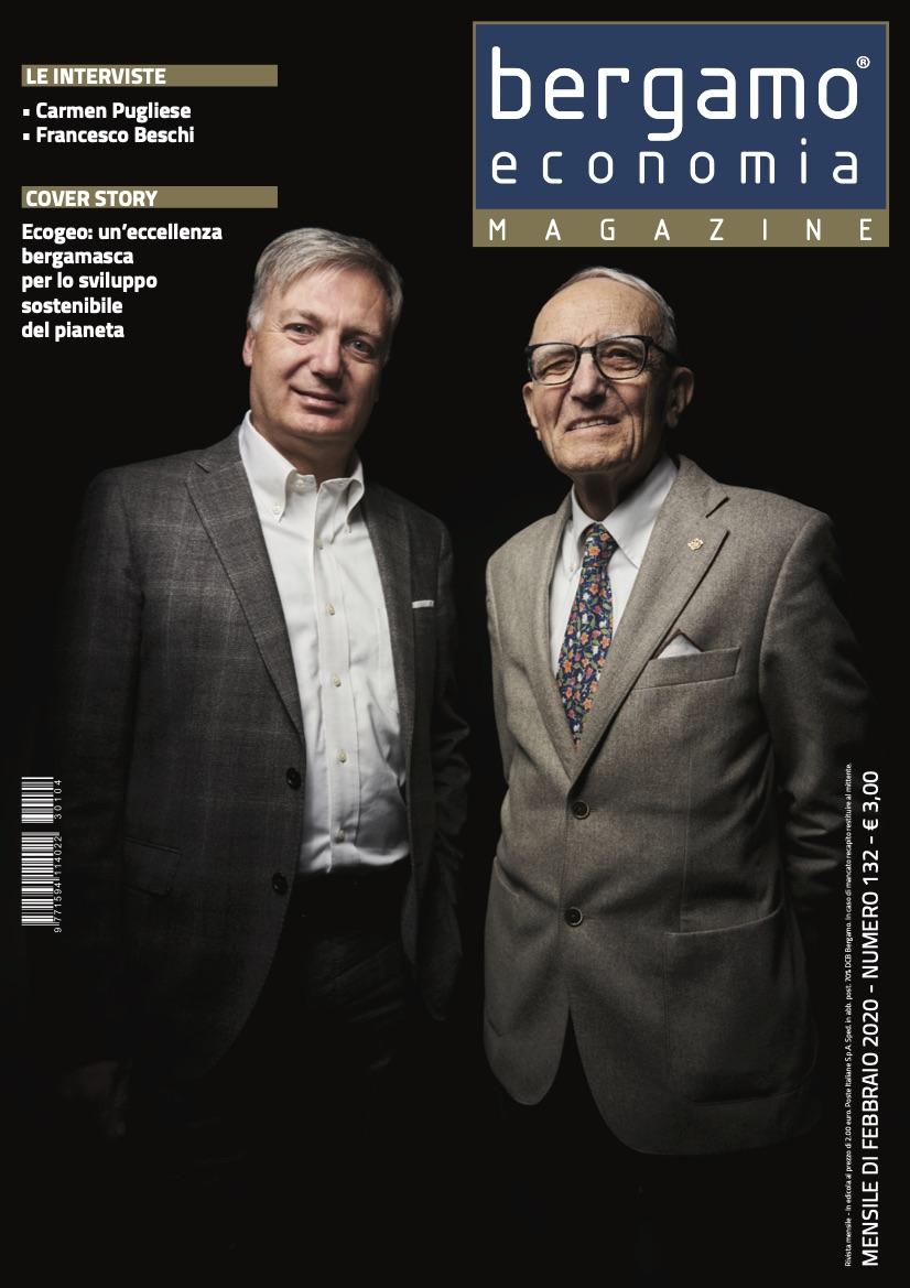 """Ecogeo sul mensile """"Bergamo Economia Magazine"""""""